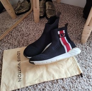 Louis vuitton high sock sneakers